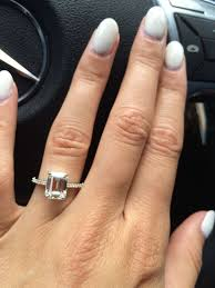 emerald cut engagement rings 2 carat 1443 best from miss to mrs images on engagement rings