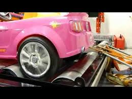 pink power wheels mustang power wheels mustang takes dyno test autoevolution