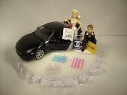 car wedding cake toppers shopping w 2009 nissan gtr black car wedding