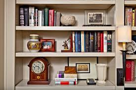 how to style bookcases that tell a story nell hills