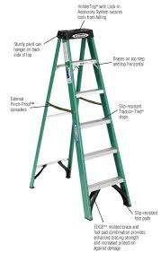 home depot black friday 5 foot ladder sale werner 6 ft fiberglass step ladder with 225 lb load capacity