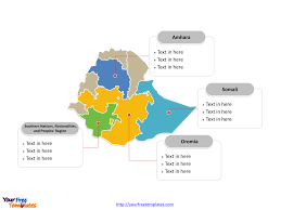 Map Of Ethiopia Free Ethiopia Editable Map Free Powerpoint Templates