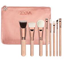 amazon brushes makeup zoeva rose golden vol 2 luxury set zoeva set 8 face brushes