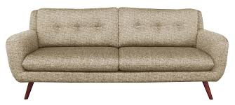 ethnicraft canapé canapé sofa n801 3 places beige ethnicraft