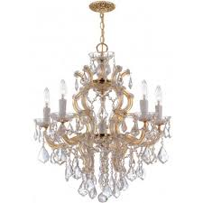 Maria Theresa 6 Light Crystal Chandelier Maria Theresa Chandeliers
