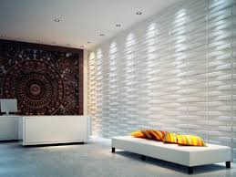 27 Sq ft of 3d Glue on Wall Panels By Threedwall Wallpaper