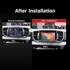 inch 2016 kia sportage android 6 0 radio dvd gps navigation system