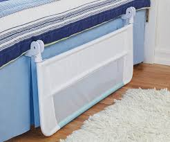 Bed Rails For Convertible Cribs by Amazon Com Munchkin Safety Toddler Bed Rail White Blue