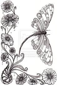 Flowers Designs For Drawing 278 Best Doodle Flowers Images On Pinterest Mandalas Drawings