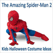 the amazing spider man 2 costumes for kids