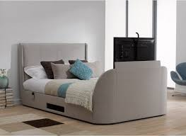 Tv Bed Frames Titanium T3 Tv Bed Frame Stylish Upholstered From Dreams