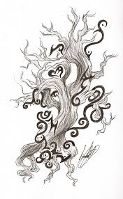 celtic and tribal tree design by draconian princess on deviantart