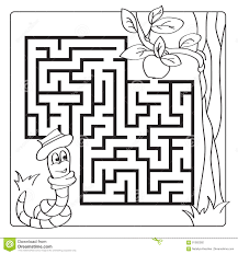 labyrinth maze for kids entry and exit children game