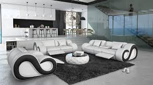 canapé 3 places design canapés 3 2 1 places design avec éclairage nesta 2 099 00