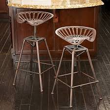 rustic bar stools amazon com