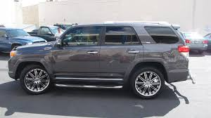 2010 toyota highlander tires pics of 2015 toyota 4 runner with chrome and black rims demoda
