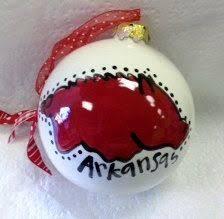 razorback ornament pig let s at kerstvarkentjes
