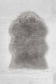 White Skin Rug Flooring Faux Sheep Rug Faux Fur Area Rugs Fake Fur Rugs