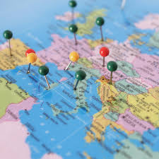 World Map Pins by Personalised World Traveller Map U2013 Map Marketing