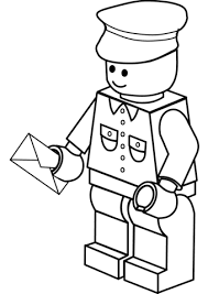 mailman hat coloring page lego postman coloring page free printable coloring pages