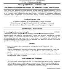 Resume Objectives Exles Writing Resume Sle - first class resume objective for retail free objectives template