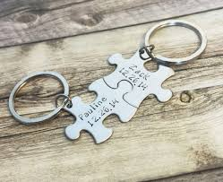great anniversary gifts name date couples keychains personalized gift great anniversary