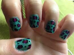 how to make a cheetah nail design snapguide