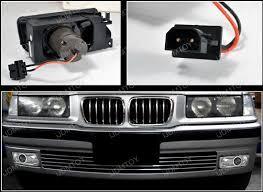 bmw e36 fog light bracket 1992 1998 bmw e36 chrome housing projector fog light ls