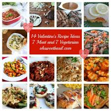 Dinner Special Ideas 14 Valentine U0027s Dinner Ideas Oh Sweet Basil