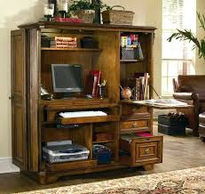 Computer Armoire Corner Armoire Desks Home Office Cabet Side Cabet Computer Armoire Desk
