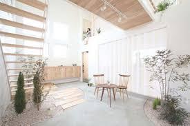 zen spaces domestic bliss zen garden style living room atrium space
