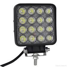 led work lights for trucks 4 inch 48w square led work light off road spot lights truck lights