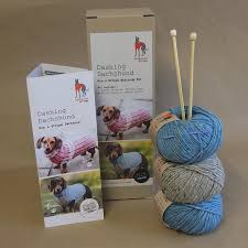 dashing dachshund donegal knitting kits