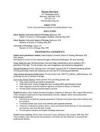 emergency nurse practitioner sample resume graduate nurse practitioner cv samples http resumesdesign com