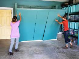 how to make storage cabinets how to build oversized garage storage cabinets hgtv