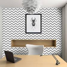 wallpaper grey uk contemporary chevron self adhesive wallpaper by oakdene designs