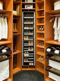 closet tie storage