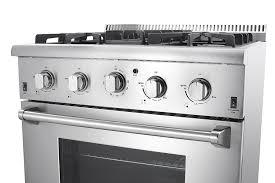 Kitchen Stove Knobs Amazon Com Thorkitchen Hrg3026u 30