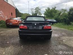 bmw m3 2005 convertible black on black 6mt manaul no longer