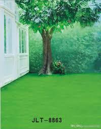 wedding backdrop green outdoor green tree scenic wedding children vinyl photography