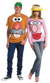 Diy Sew Potato Head Costume Halloween Halloween Costumes Couples Halloween Costumes Diy
