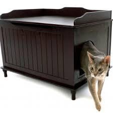 Decorative Cat Box The Designer Catbox Litter Box Enclosure In White Free Shipping