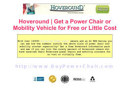 Hoveround Mobility Chair Get A Hoveround Wheel Chair For Free Or Little Cost