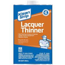 klean strip 1 qt lacquer thinner qml170 the home depot