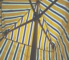 Sears Tent And Awning Yakima Umbrella Tent Interior View Of Center Pole Umbrella Apparatus