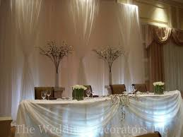 Wedding Head Table Decoration Ideas Ohio Trm Furniture