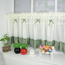 Short Curtains For Living Room by Online Get Cheap Flower Kitchen Short Curtains Aliexpress Com