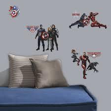 avengers civil war stickers great kidsbedrooms the children avengers civil war stickers