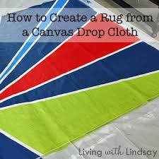 How To Make An Outdoor Rug How To Make An Outdoor Rug From A Canvas Drop Cloth Makely