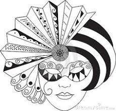 image result for coloring pages masks of venice coloring pages